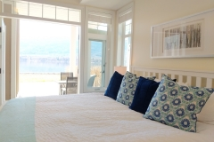 Master bedroom with patio and ensuite